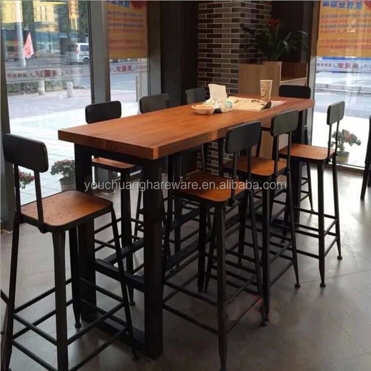Casual coffee shop wood dining tables and chairs wholesale buy dining tables and chairs coffee Tables for coffee shop