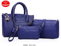 European and American high-end three-piece bag, stone rose 3 pcs per set Handbags/shoulder bags/one shoulder bags/