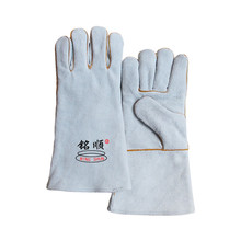 Durable heat-resistant puncture resistant stick welding gloves