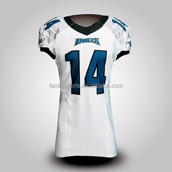 American football uniform Capless sleeve - EAGLES