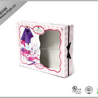 PVC Window Paper Packaging Box Of