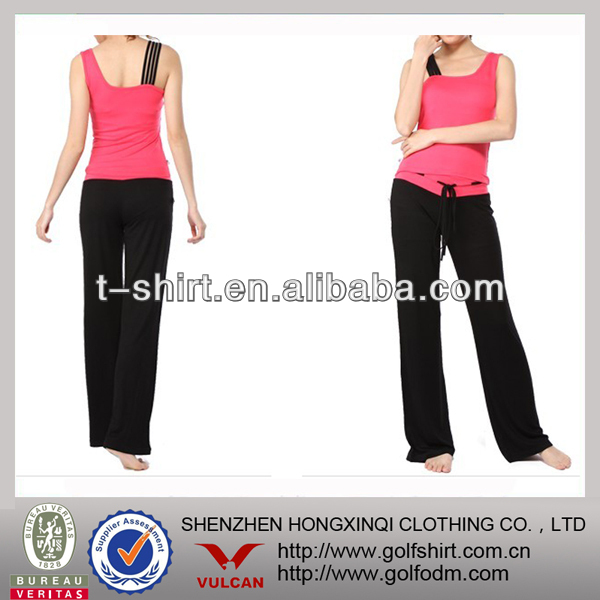 Customized Cool Dry Fashion Lady Gym Wear Set
