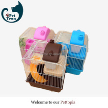 Made in china promotional wire folding two door pet dog cage