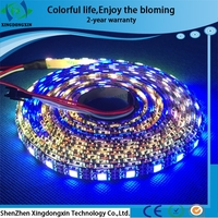 China wholesale IP65 ws2812 DC5V flexible led strip light/2-year warranty smd 5050 waterproof flexible led strip light