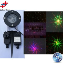 12 Patterns Red Blue Christmas Garden Laser Projector light Outdoor Waterproof Xmas Tree Holiday Party Landscape Light