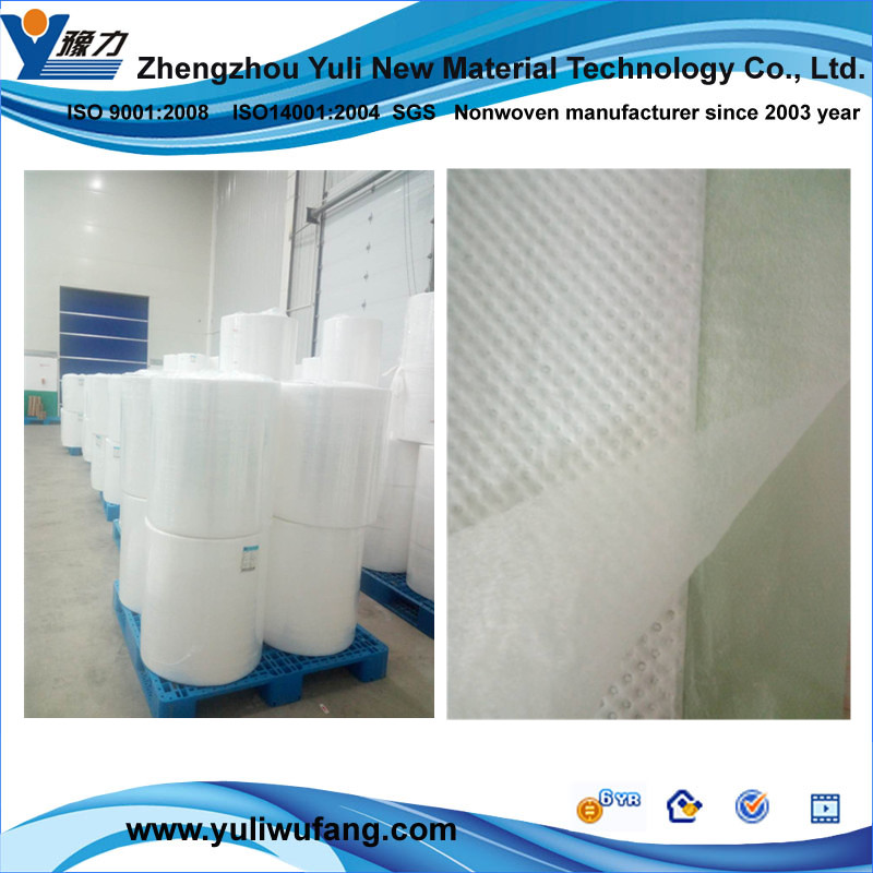 Disposable nonwoven 100% polypropylene fabric printing bed sheet fabric