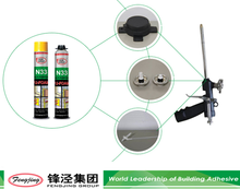 Well distributed OEM quality expanding polyurethane foam sealant from China
