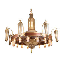 Middle East cheap Islamic mosque chandelier