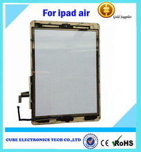 Original new for ipad air touch screen replacement,for ipad air touch screen,for ipad air screen with digitizer