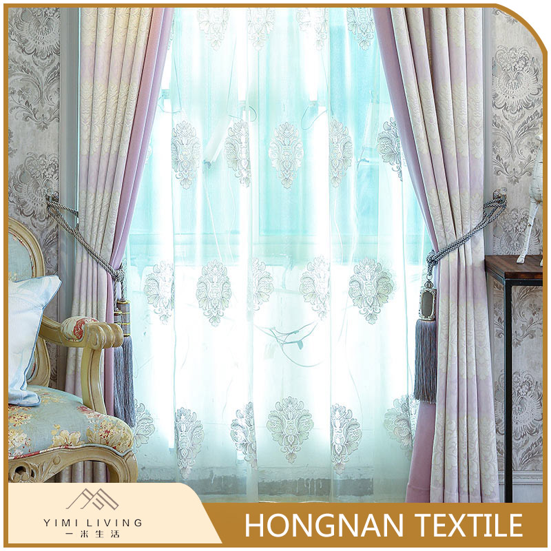 Oem good sealed classical woven japanese style curtains