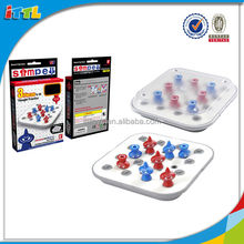 Hot sell Family Chess Game Improve Intelligence Plastic Intelligent Chess Game
