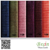 Chinese Fabric For Modern Sofa velvet curtains And Cushion Cover Upholstery Fabric