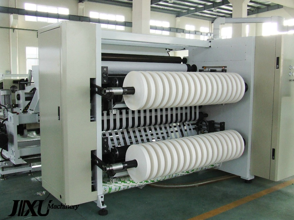 High Speed Computerized slitting and rewinding machine