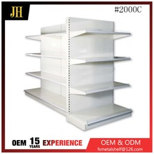 Custom iron shelves 120kg heavy duty grocery shelves for sale in supermarket equipment