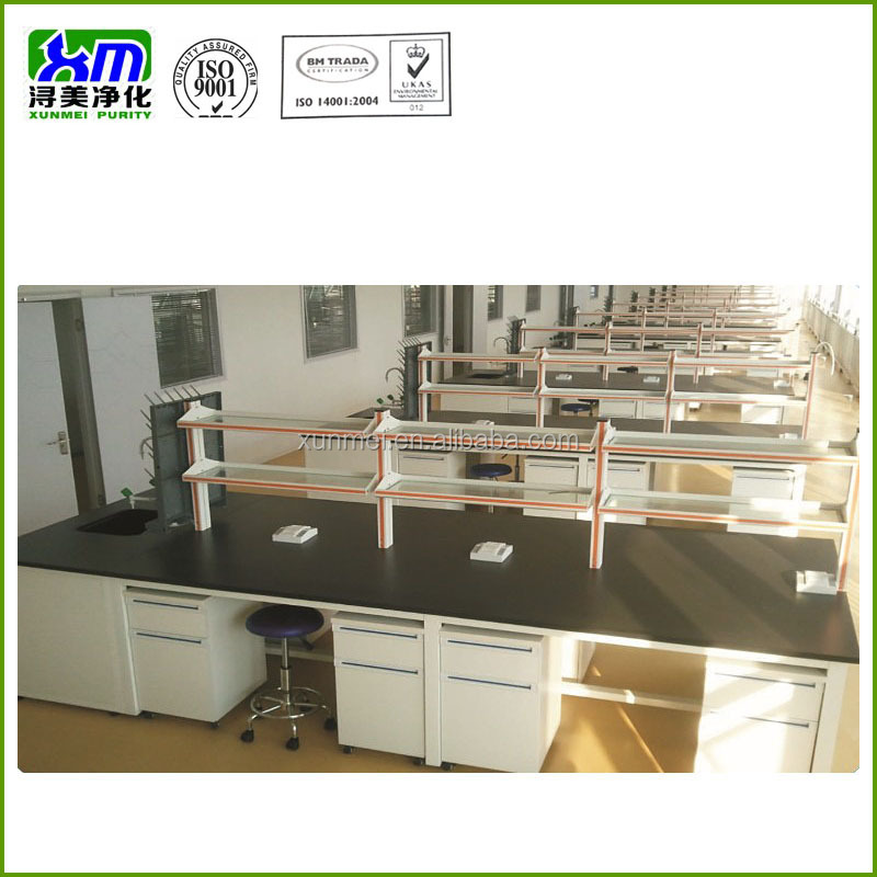 All steel science table/school science laboratory equipment