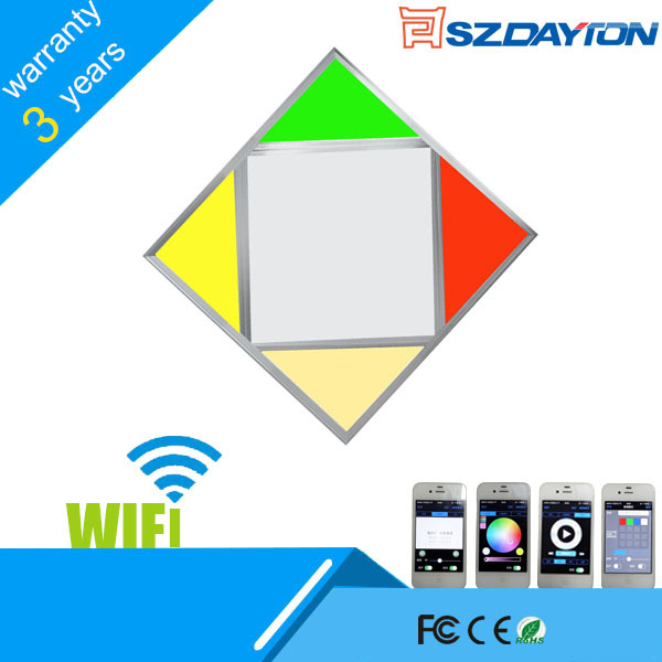 DAYTON 2015 iluminacion led wifi panel 30x30 cm led panel lighting