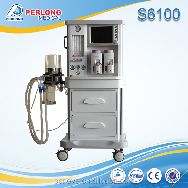 S6100 perlong medical multi mode anesthesia machine with ventilator
