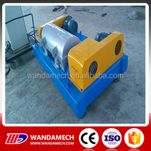 WL450 Continuous flow oil sludge decanter centrifuge separator
