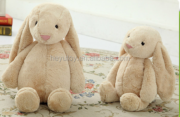 Custom Lovely rabbit bunny plush toy for kids