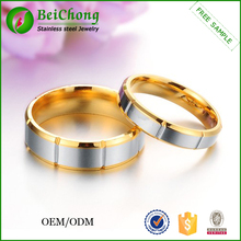 Couples jewelry mexican 18k gold plated silver ring