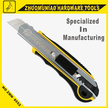 Brand New Utility Knife 18MM With 5 Blades Inside Easy Cutting Tools