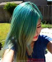 Non-toxic colorful soft hair dye/magic powder hair color dye/ rainbow colors temporary hair product