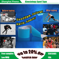 Popular new coming cotton pre-cut elastic muscle tape High quality latest durable custom boxed muscle tape sports bandage