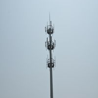 Long lifetime high quality antenna poles towers