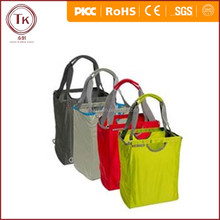 Lovely Promotional Recycled Foldable Tote Reusable Shopping Nylon Bag