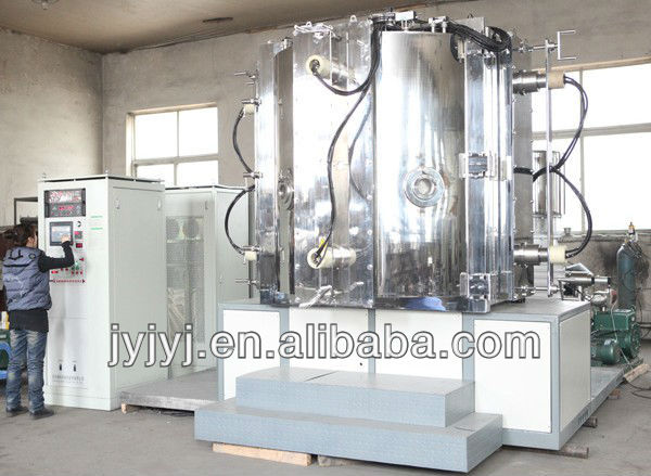 A variety of color ion coating machineDecorative metal vacuum coating machine