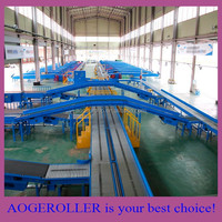 carbon steel motorized roller conveyor