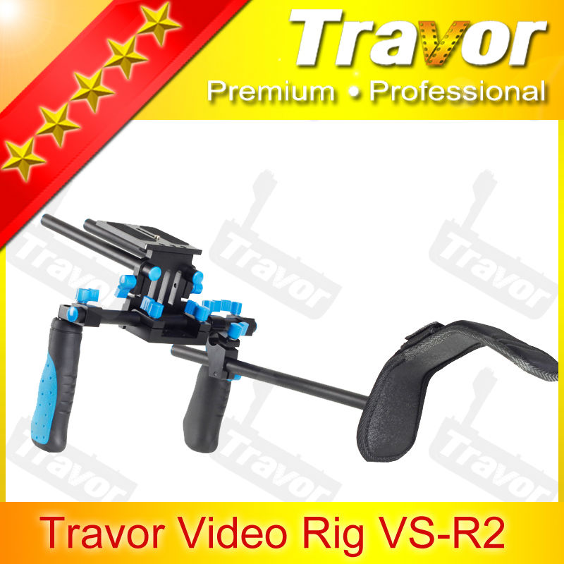 Travor Brand Video should Rig VS-R1 long range wireless camera for DSLR Camera camcorder