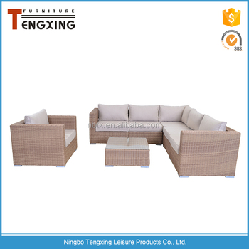 Welcome customized rattan sofa outdoor semi circle furniture