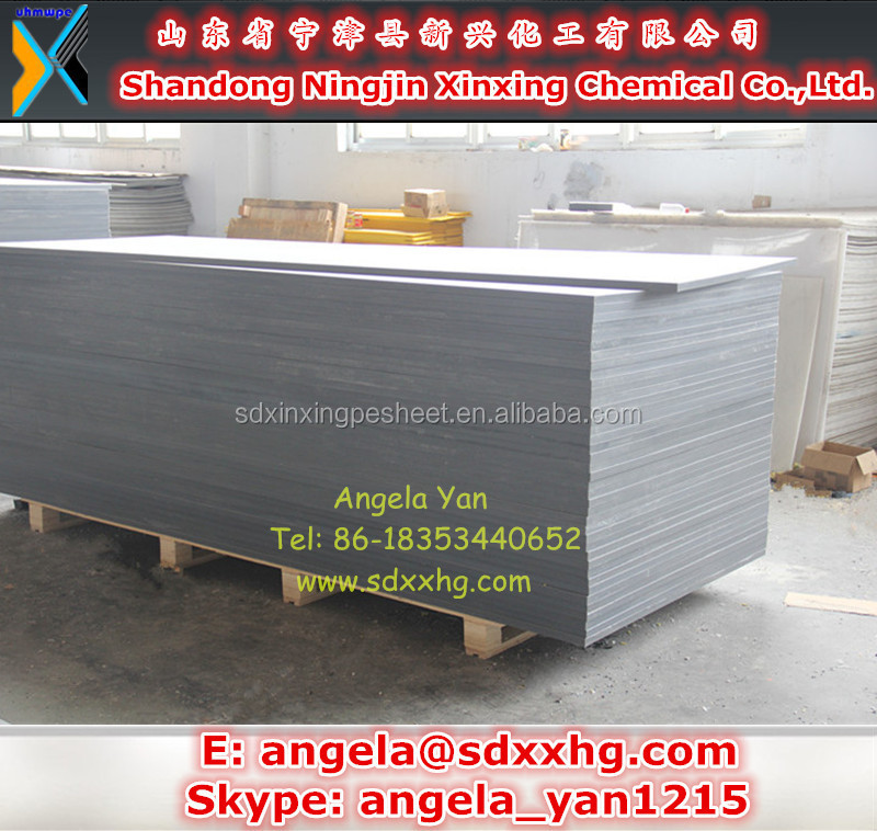 Grey color hdpe sheet,polyethylene high density plastic board,pehd 500 plate