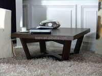 2014 Divany modern living room furniture sets antique cane chair wood coffee table T-49