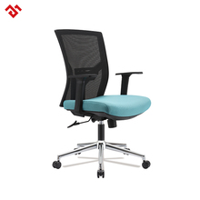 Multi-functional Black Modern Computer Furniture/Swivel office furniture wheel chair x back chair