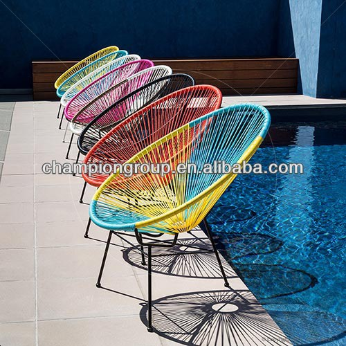 WR-3650 bright color peacock lady chair