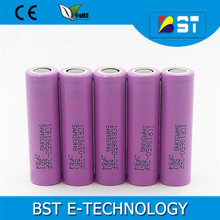 BST Wholesale 18650 li ion battery 3.7V 2600mah lifepo4 batteries cell for Samsung ICR18650-26F/FM 2600mah