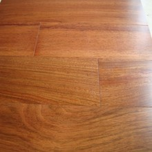 Jatoba engineered wood flooring with lacquered