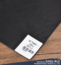 Top grade trendy style woven backing artificial leather for sofa/car/shoe/garment