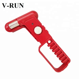 Multi-Purpose Emergency Car Safety Hammer with Alarm