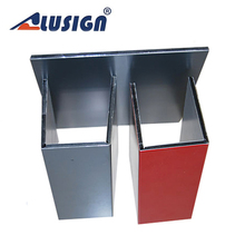 Alusign stable fiberglass honeycomb core