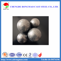 Top rank chrome alloyed grinding ball steel casting ball for sag mill