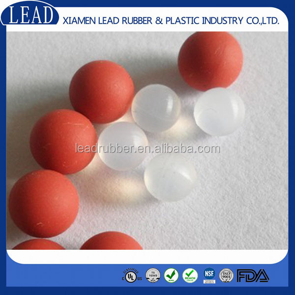 Aging-resistant high quality soft silicone rubber ball