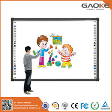 Small electronic whiteboard 82'' 96'' smart board for sale active mobile stand interactive writing board