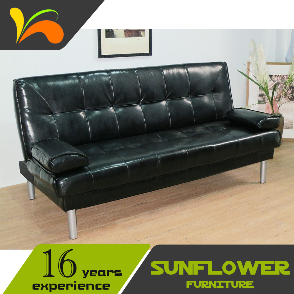Reasonable price modern household goods vintage leather sofa