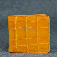 exotic wallet_niloticus crocodile skins. _ porosus crocodile MEN wallet _ croco leather man wallet