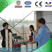 High profit used oil refinery equipment with 85~90% oil output