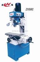 small drilliing and milling machine ZX50C from metal