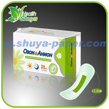Hot Sale Green Strip Anion Panty Liners Manufacturers with OEM